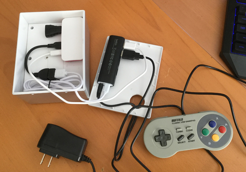 RetroPie console design by Dave Delisle