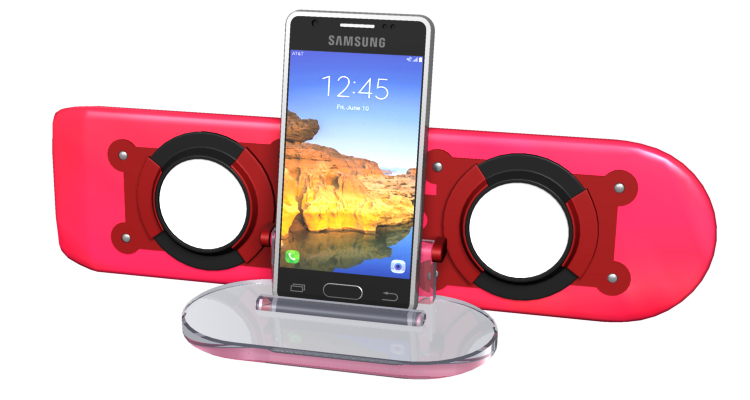 Back To The Future Wireless Charger And Bluetooth Speaker Dave S Geeky Ideas