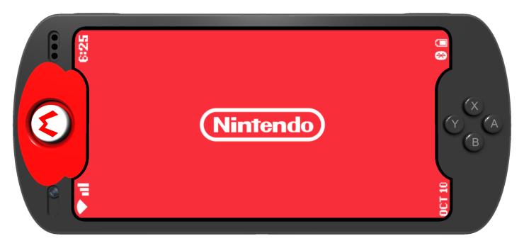 Nintendo Smartphone design by Dave Delisle davesgeekyideas