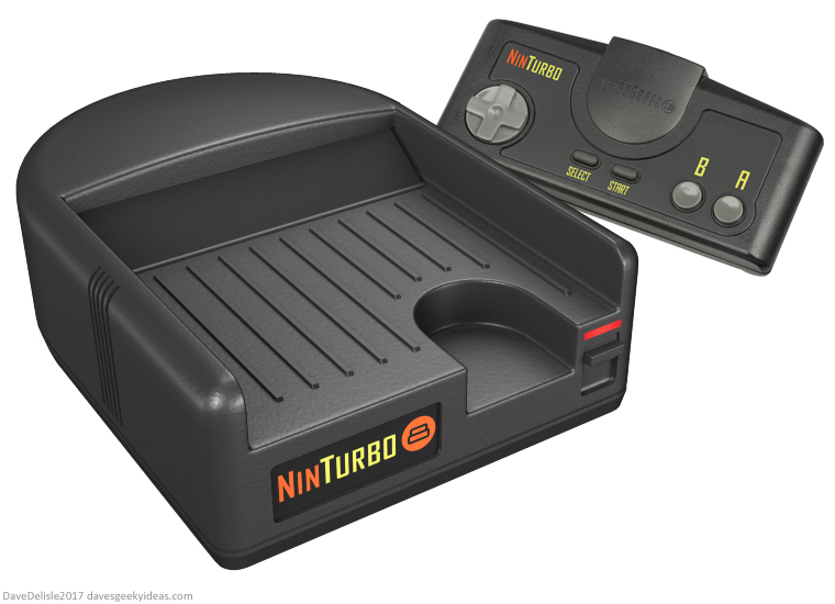 Turbo Grafx 16 NES console by Dave Delisle