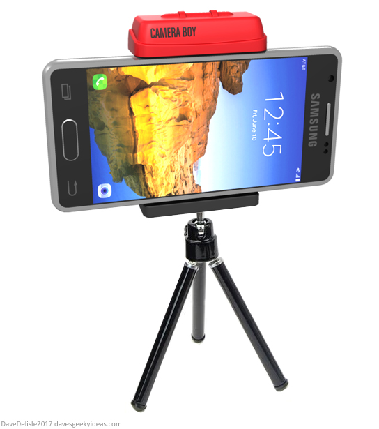 Virtual Boy Nintendo camera stand by Dave Delisle