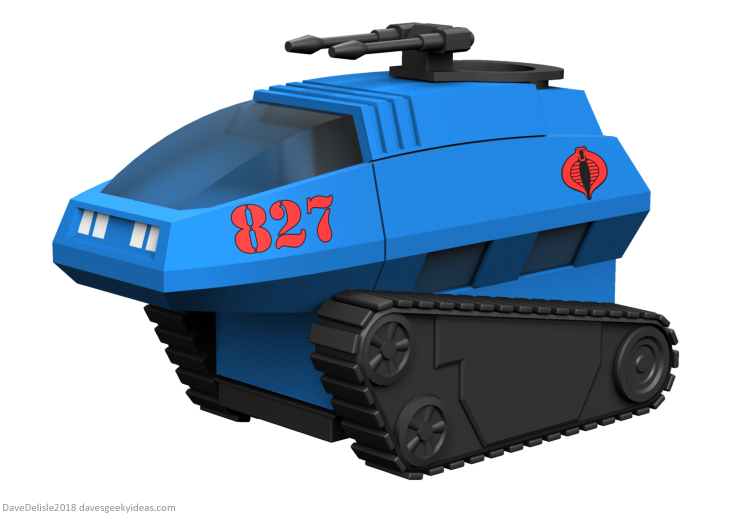 Cobra Hiss Tank Tiny House design by Dave Delisle