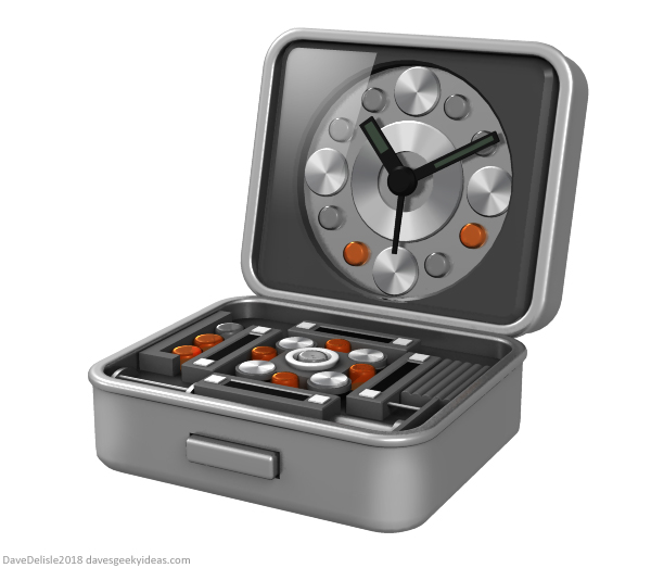 Inception Travel Alarm Clock design by Dave Delisle