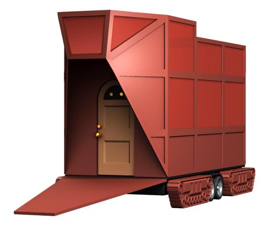Jawa Doorway Sandcrawler by Dave Delisle