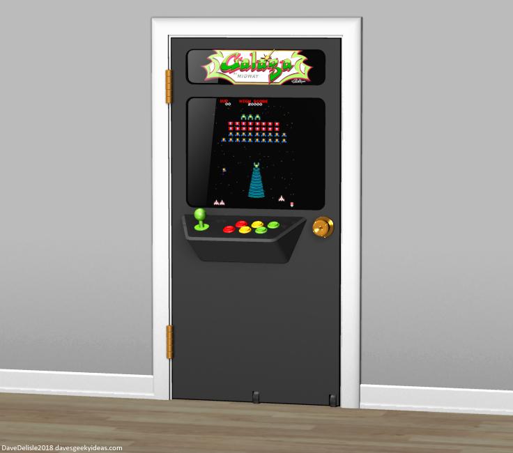 Doorcade arcade cabinet design by Dave Delisle davesgeekyideas