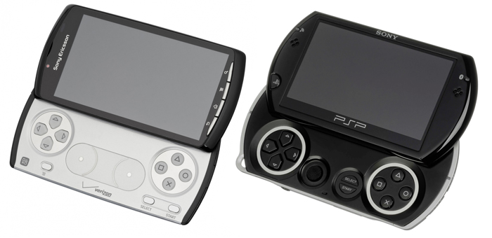 Experia Play and PSP GO