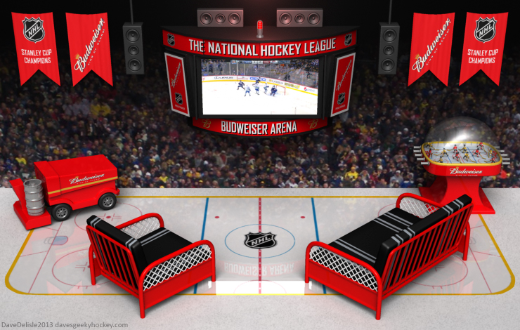 Hockey Rec Room Design by Dave Delisle davesgeekyideas
