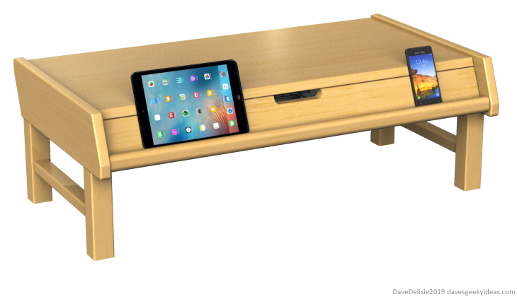 gadget-coffee-table-usb-charging-hub-easel-2019-dave-delisle-davesgeekyideas-2