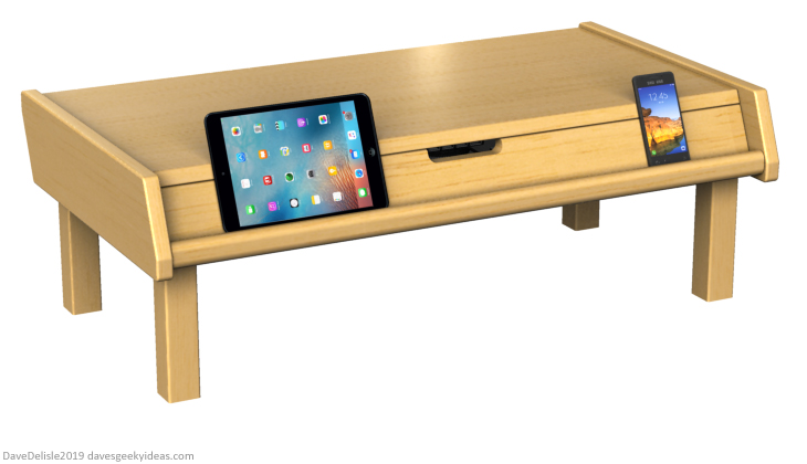 USB Coffee Table For Gadgets 2019 Dave Delisle davesgeekyideas
