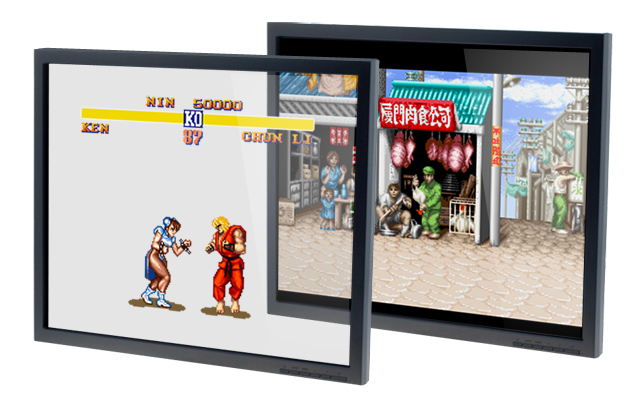 Retro-CRT-3D-clear-display-gaming-street-fighter-2-2019-dave-delisle-davesgeekyideas