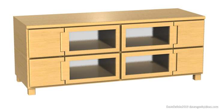 TV Stand For Game Consoles IKEA 2019 Dave Delisle davesgeekyideas