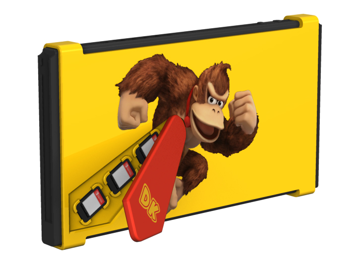 Donkey Kong protective Nintendo switch case cover design 2019 Dave Delisle davesgeekyideas