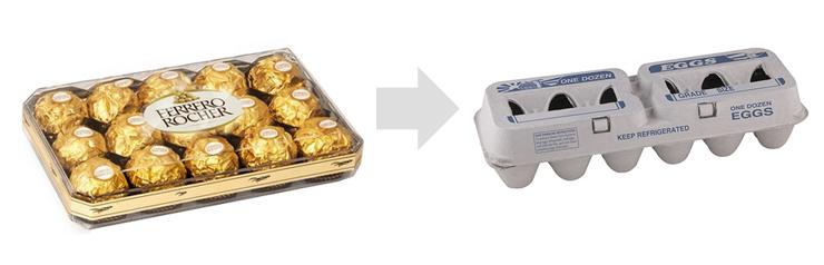 ferrero-rocher-egg-carton-packaging-2019-davesgeekyideas