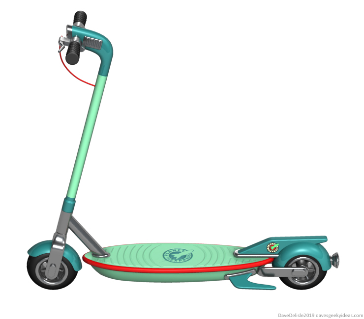 futurama-planet-express-electric-scooter-bird-xiaomi-2019-dave-delisle-davesgeekyideas-daves-geeky-ideas