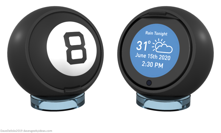 magic-8-ball-alexa-siri-assistant-echo-show-design-clock-2019-dave-delisle-davesgeekyideas-daves-geeky-ideas