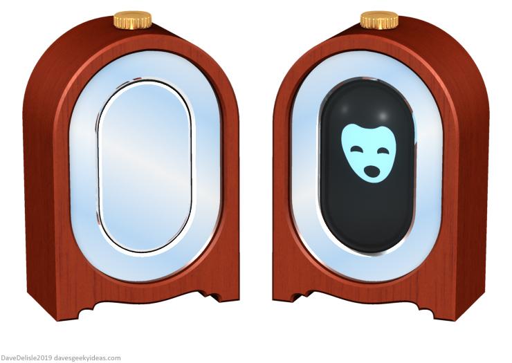 HUD mirror mirror fairy tale personal assitant Alexa siri gadget 2019 dave delisle davesgeekyideas daves geeky ideas