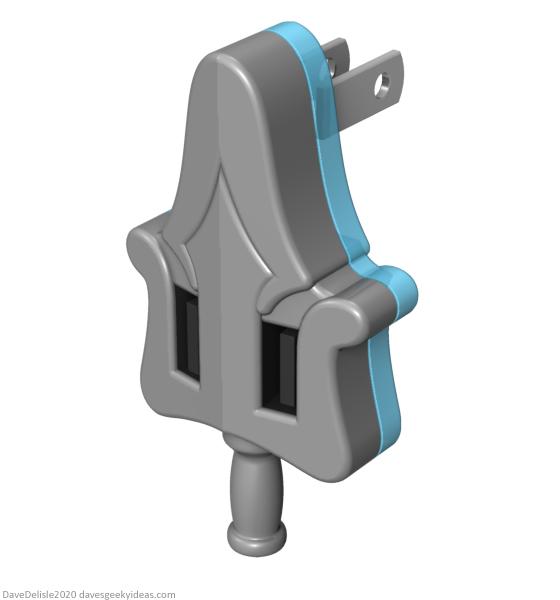 He-Man MOTU USB wall adapter nite lite 2020 dave delisle davesgeekyideas