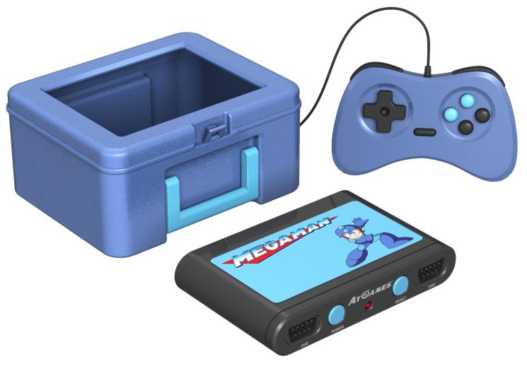 retro lunchbox mega man video game console legends flashback atgames 2020 dave delisle davesgeekyideas