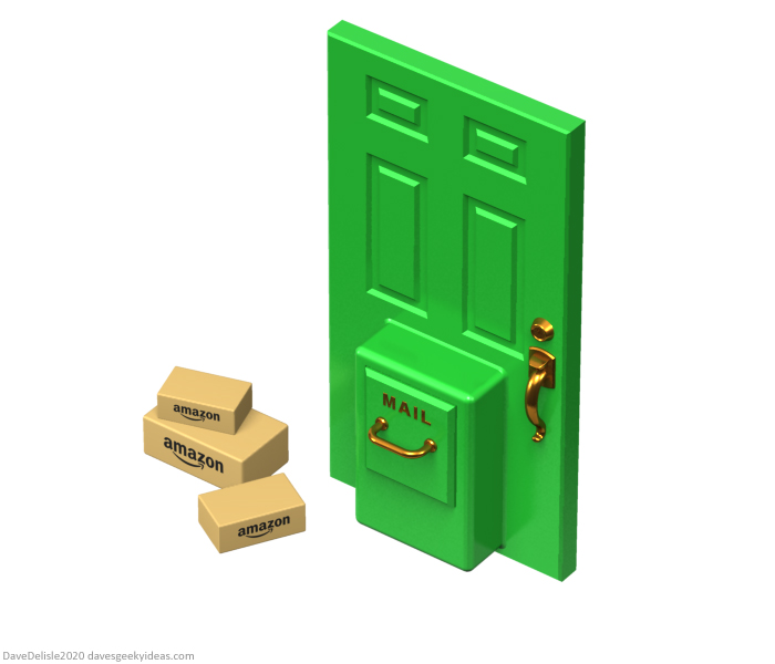 anti-theft front door porch pirates theft amazon packages security design 2020 dave delisle davesgeekyideas