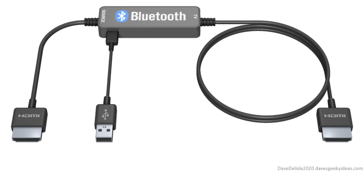 Bluetooth-HDMI-cable-audio-splice-mixing-design-home-theater-game-console-2020-dave-delisle-davesgeekyideas