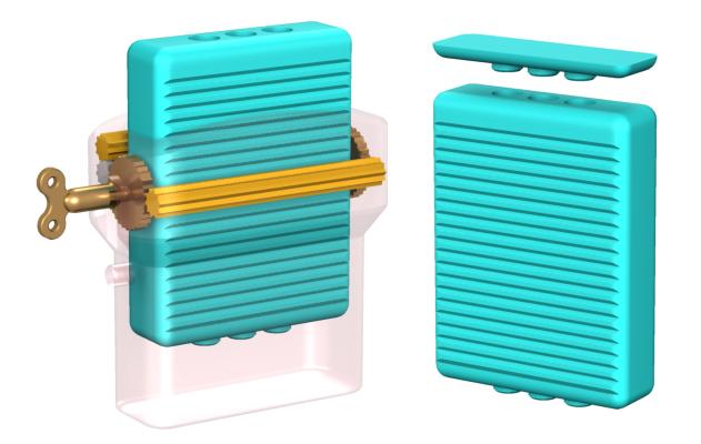 Refillable deodorant stick plastics environment reusable design 2020 dave delisle davesgeekyideas