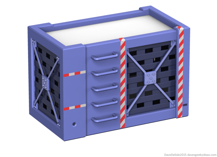 Jurassic Park velociraptor cage bunk bed design by Dave Delisle