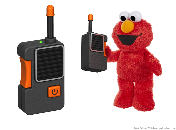Tickle Me Elmo walkie talkie smart assistant alexa siri plush toy teddy ruxbin electronics dave delisle davesgeekyideas 2020